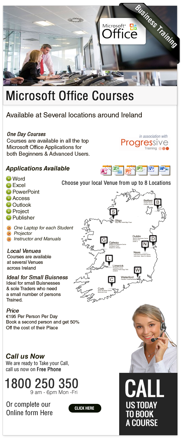 Local-Courses in Microsoft Office