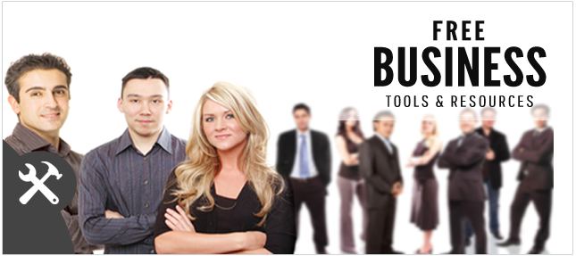Here are free b business tools and resources